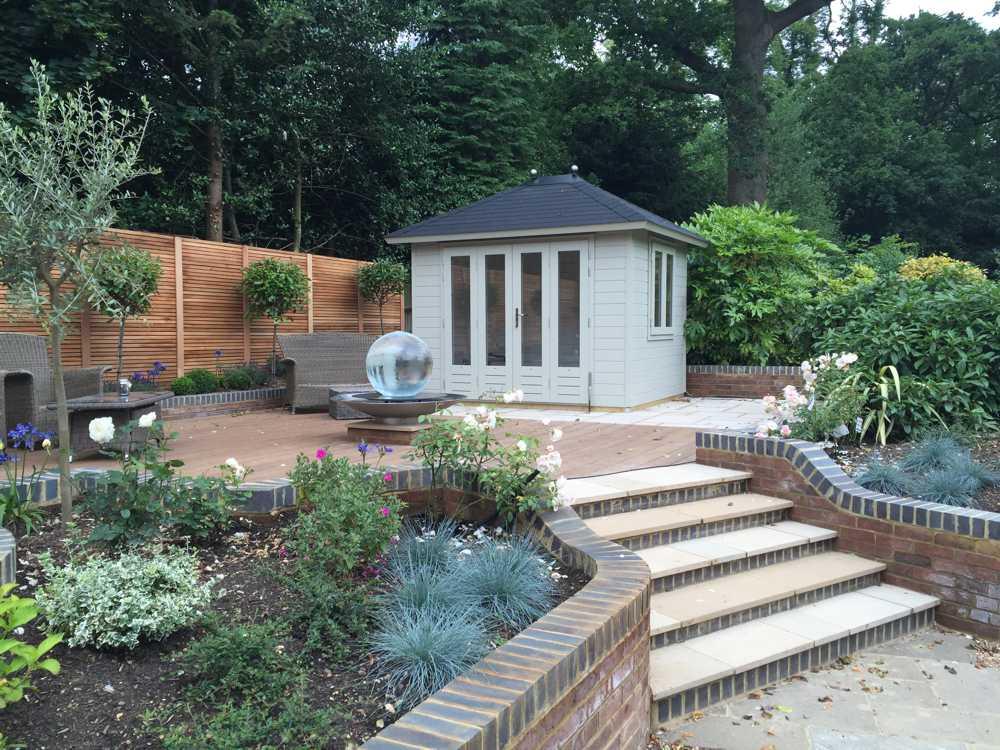 outdoor summer house