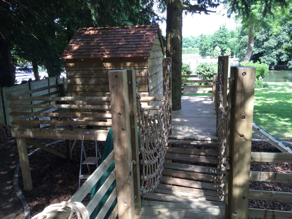 children's tree house