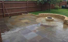 new garden patio