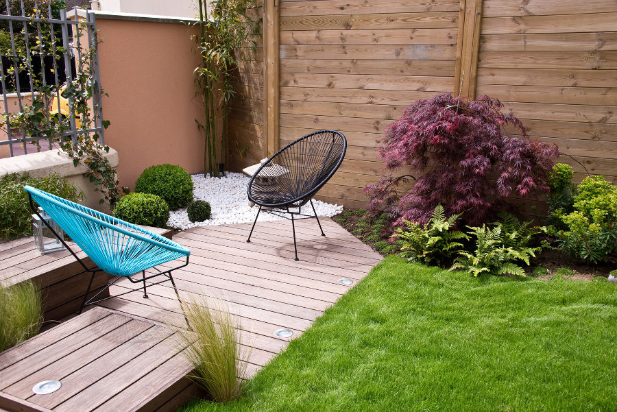 Landscaping For A Small Garden - Thames Valley Landscapes