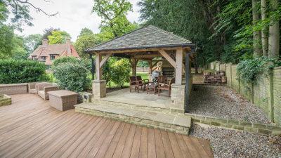 lapa garden building for outdoor entertaining