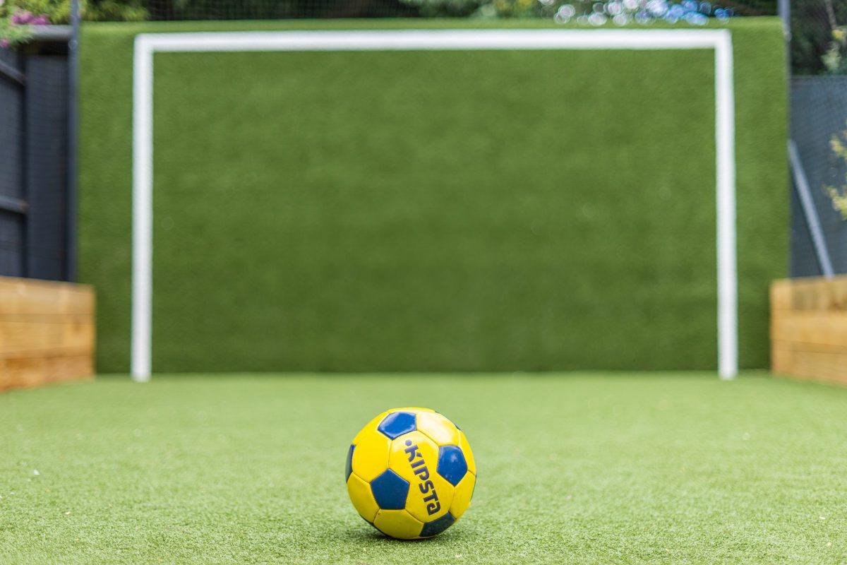 artificial grass sports pitch